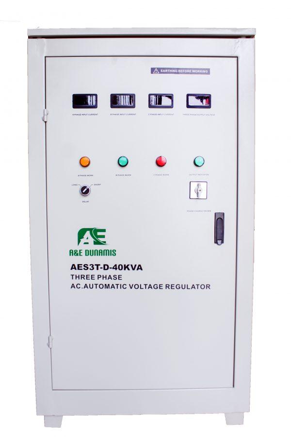 40KVA 3phase Servo Voltage Stabilizer (240V-433)