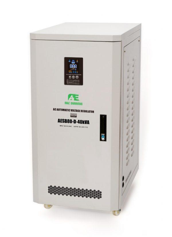 A&E 40kva Single phase Servo stabilizer