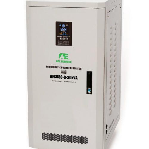 30KVA Single-phase Servo Voltage Stabilizer (80V-250V)