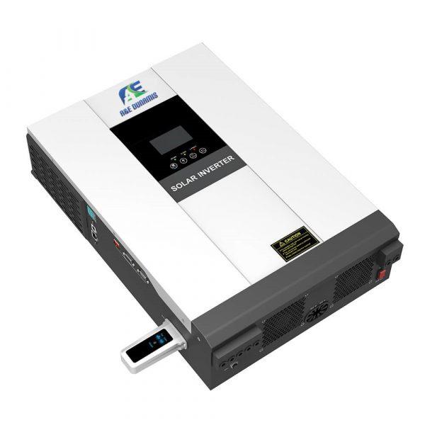 A&E 4KVA/48V Transformerless Hybrid Inverter with inbuilt 80am MPPT Charge Controller
