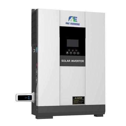 A&E 4KVA/24V Transformerless Hybrid Inverter with inbuilt 80am MPPT Charge Controller